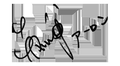 AARONのサイン